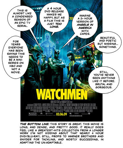 Watchmen Cartoon Review (c) Kyle Cummings