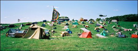 taking woodstock field tents