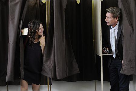 Sara Forestier und Jacques Gamblin in 'Le nom des gens' ©pathé