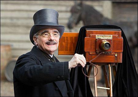 Cameo: Scorsese als Fotograf in seinem 'Hugo' ©ascot-elite