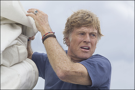 Robert Redford in 'All Is Lost' © uip