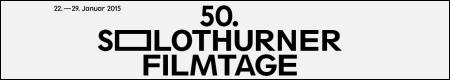 Banner 50. Solothurner Filmtage, 22.- 29. Januar 2015