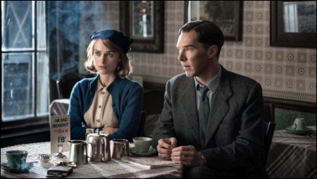 Keira Knightley und Benedict Cumberbatch in 'The Imitation Game' © Ascot-Elite