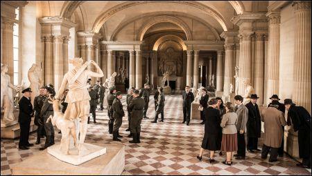 Besatzungsempfang im Louvre 1940 © Look Now!