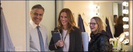 'Money Monster' George Clooney, Julia Roberts und Jodie Foster © Disney