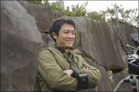 Regisseur und Ozawa-Darsteller Katsuya Tomita