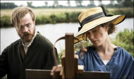 Otto Modersohn (Albrecht Abraham Schuch) und Paula (Carla Juri) © filmcoopi